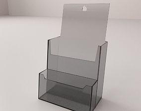 3D model Brochure Holder