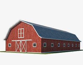 3D model horses The Barn