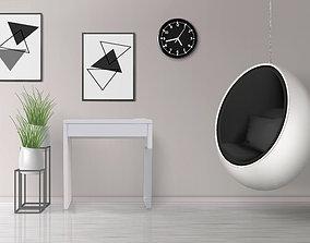 IKEA Micke Single 3D Model