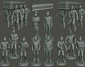 Dancing coffin meme A Pack 3D printable model