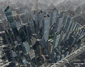 High Rise City V 3D model