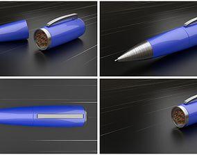 3D model Ballpoint Pen Flashlight