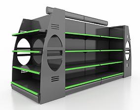 market Shelf 3D model 10