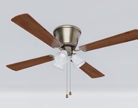 Ceiling Fan 3D asset VR / AR ready PBR