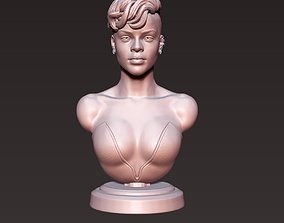 Rihanna sculpture Ready to Print 3D printable model
