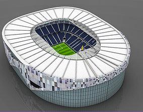 3D asset Tottenham Hotspur Stadium