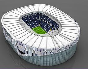 Tottenham Hotspur Stadium 3D asset