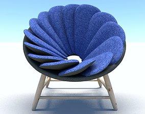 3D furniture modernchair Chair