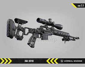 XM2010 - Animated FPS Weapon for Unreal Engine 3D asset