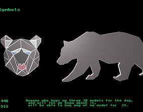 Animal Symbols 3D model