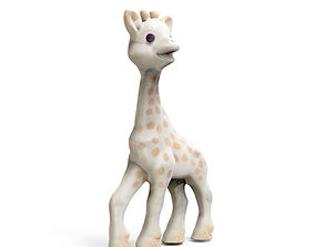 3D print model Sophie The Giraffe