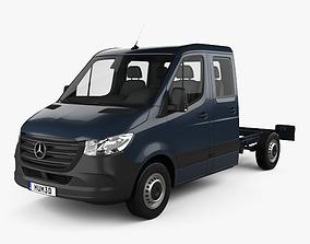 Mercedes-Benz Sprinter W907 Crew Cab Chassis L2 3D model