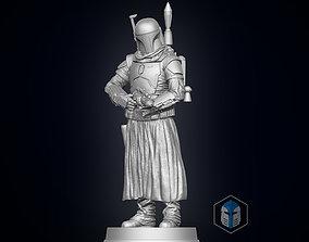 Boba Fett Figurine - Pose 1 3D printable model