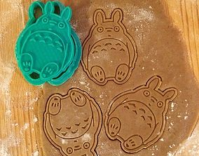 Totoro Cookie Cutter 3D printable model