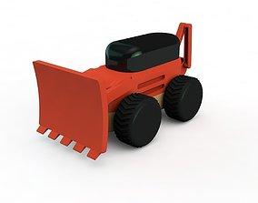 Backhoe 3D printable model