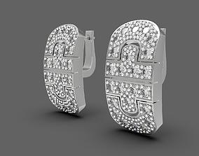 Some good replica earrings 3D printable model