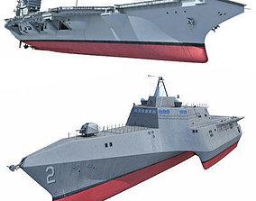 3D model US Navy Ships 1