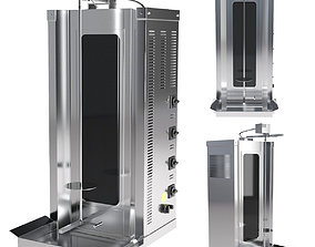 3D Ankemoller ED50P shawarma machine