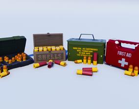 3D model Cartoon Prop Essentials - Pickup Pack