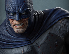 3D printable model Batman on the Bat Signal