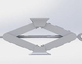 Car jack 3D printable model