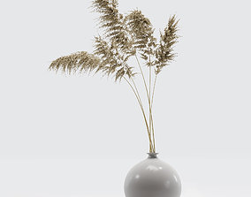 Vase with dry flowers 0002 3D model