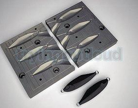 10-15-20 Gr D TETRO Metal Jig Mold 3D printable model