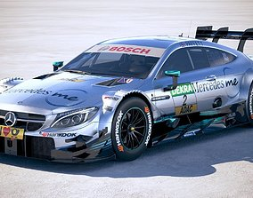 Mercedes AMG C-coupe c63 DTM 2017 3D