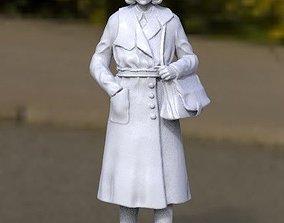 3D printable model female woman