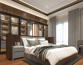 3D asset Design Interior Bedroom Modern