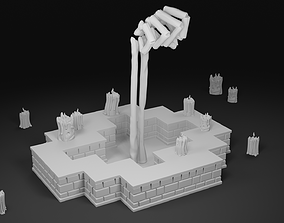 3D print model Hand of a Lich from Enter the Gungeon