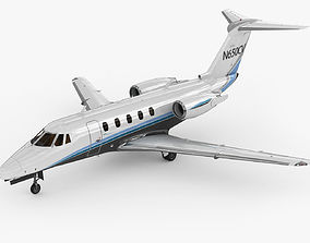 3D Cessna 650 Citation