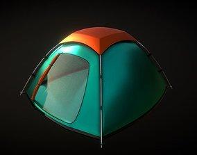Tourist Tent 3D model