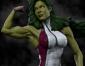 She-Hulk 3D Print