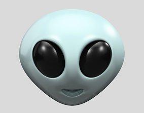 Emoji Alien 3D model