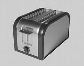2-Slice Toaster 3D asset