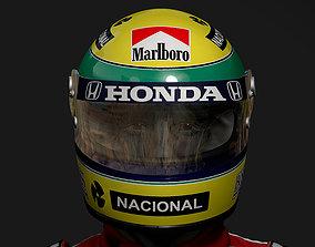Ayrton Senna Bust 3D print model