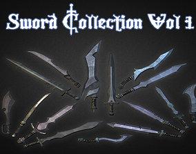 Sword Collection Vol 1 3D model