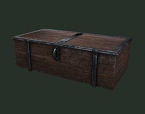 3D asset Old Wooden Chest
