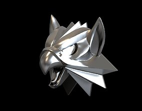 3D printable model Witcher school of the Griffin medallion