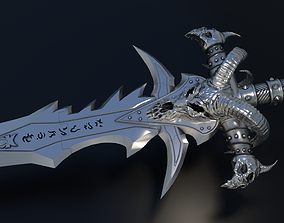 Frostmourne - Arthas the Lich King Sword 3D print model 3