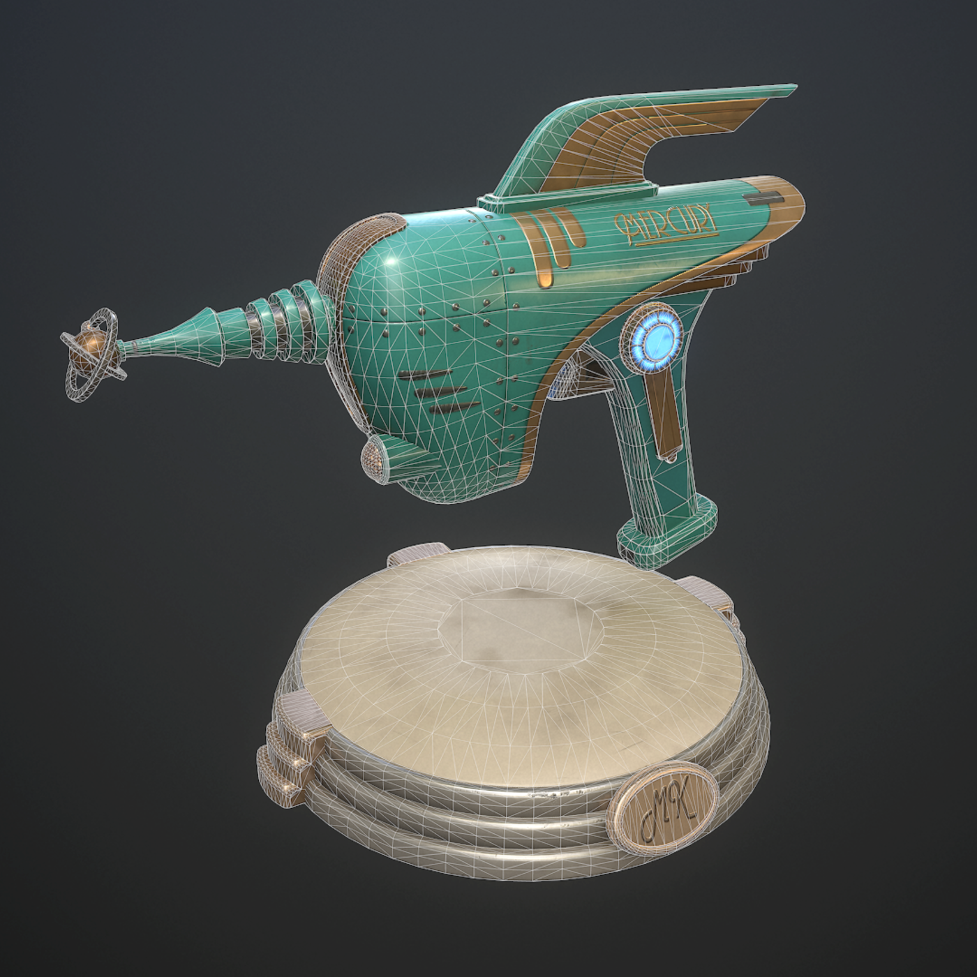 Retro pistol