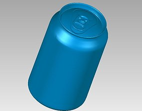 Real Softdrink Can 3D Scan kitchen