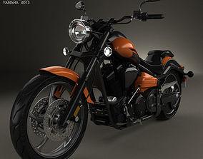 3D model Yamaha Raider SCL 2013
