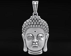 3D printable model Pendant head of Buddha