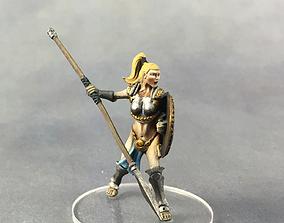 Amazone warrior - 35mm scale 3D print model