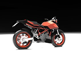 Motorcycle ktm 3D asset