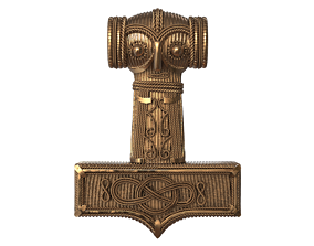 Mjolnir Thor Hammer 3D printable model