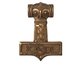 Mjolnir Thor Hammer 3D printable model
