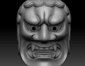 3D printable model FUDO NOH MASK